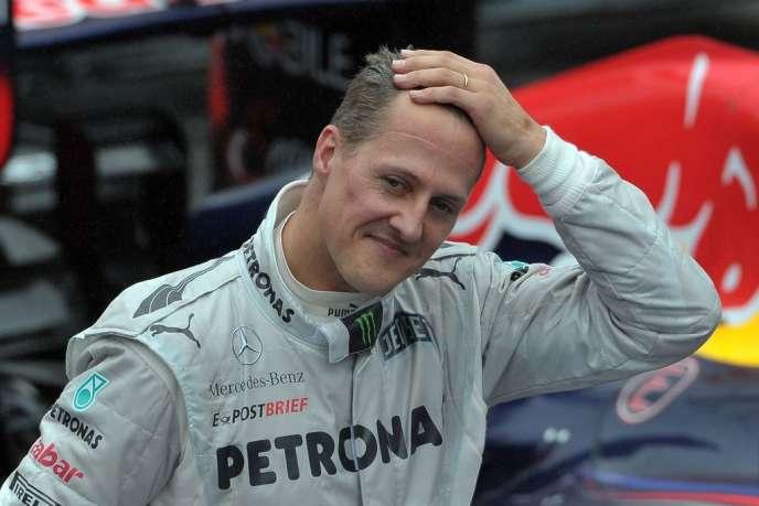 Michael Schumacher, ennovembre2012, à Sao Paulo.