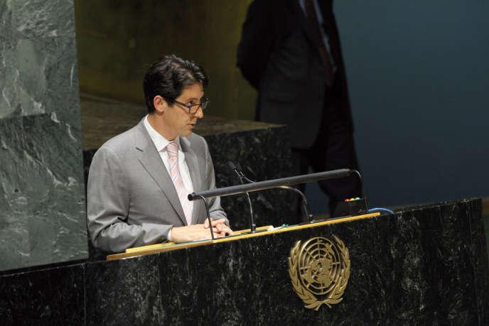 Joe Torsella, ambassadeur américain en charge de la réforme des Nations unies, s'est donné pour mission de réduire les coûts de fonctionnement de l'institution.