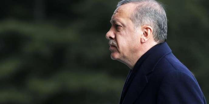 Le premier ministre turc, RecepTayyip Erdogan, le 30 décembre 2013 à Ankara.