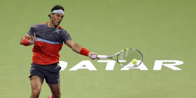 Rafael Nadal, le 1er janvier à Doha.