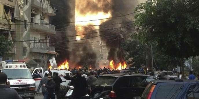 Un nouvel attentat à la voiture piégée dans le sud de Beyrouth jeudi a fait cinq morts.