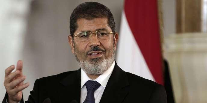 Mohamed Morsi en juillet 2012.