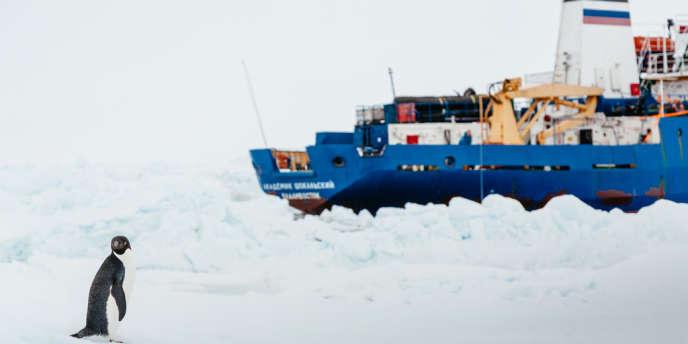 Le navire scientifique russe