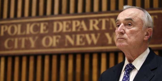 Le nouveau chef de la police de New York, Bill Brattonn jeudi 2 janvier lors de sa première conférence de presse.