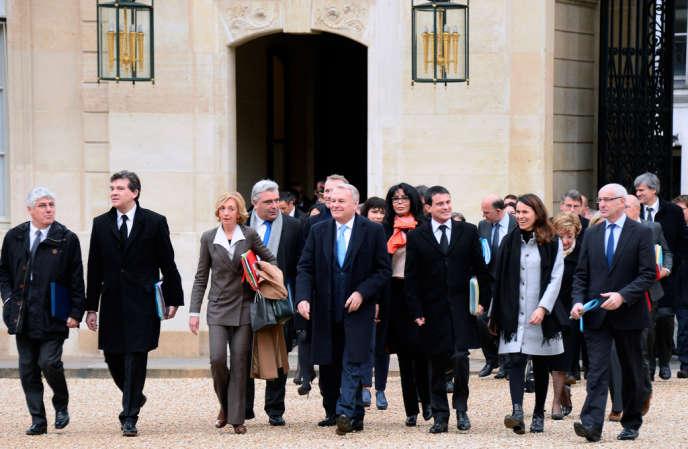 Le premier conseil des ministres de l'année s'est déroulé vendredi 3 janvier.