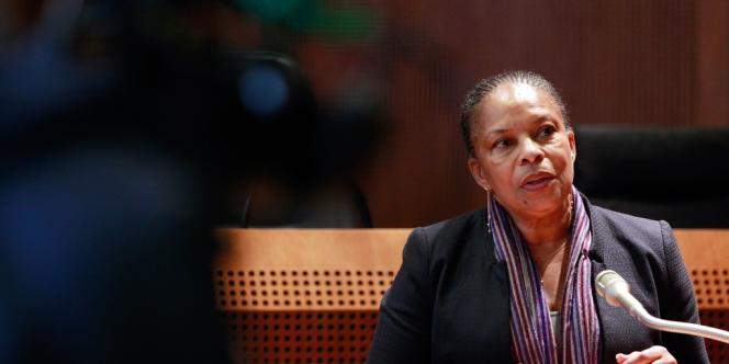 Christiane Taubira, le 19 décembre 2013.