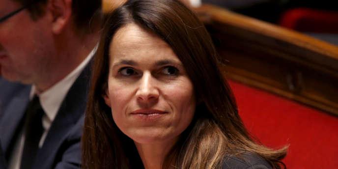 Le ministre de la culture et de la communication, Aurélie Filippetti, à l'Assemblée nationale, le 12 novembre 2013.