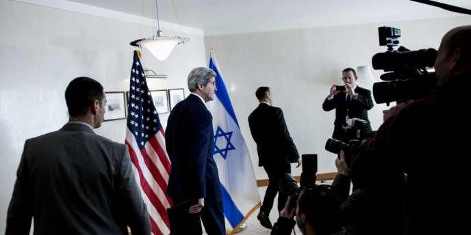 Le secrétaire d'Etat américain John Kerry, le 3 janvier, à Jérusalem.