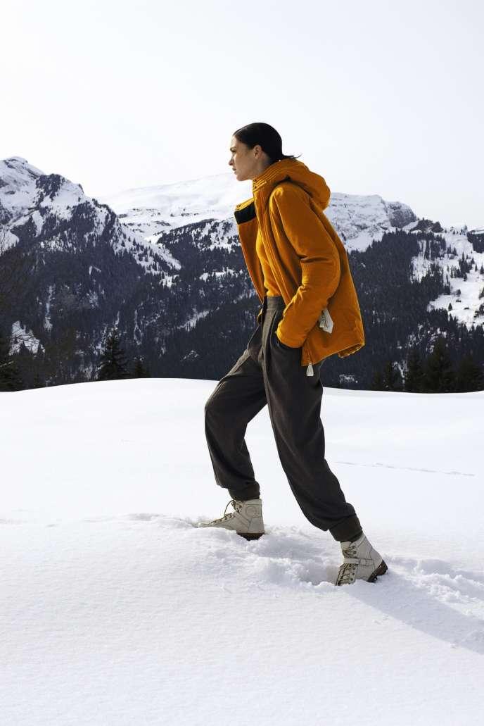 Hermès a consacré son thème 2013 au sport et lancé une luxueuse collection de vêtements de ski.