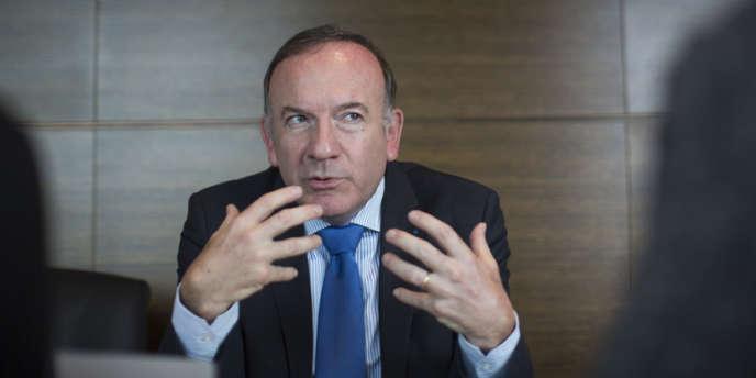 Pierre Gattaz, président du Medef, le 3 janvier à Paris.