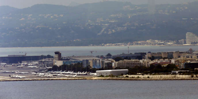 L'aéroport de Nice, le 9 juin 2013.