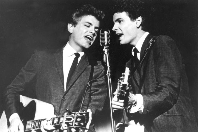 Les Frères Everly au sommet de leur gloire, en 1964.