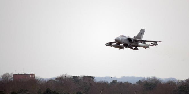 Un avion de combat britannique Tornado GR4 en 2011 à Norfolk, dans l'est de l'Angleterre.