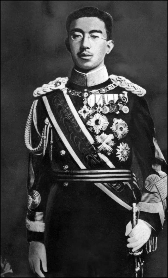 Hirohito à Tokyo le 8 décembre 1942.