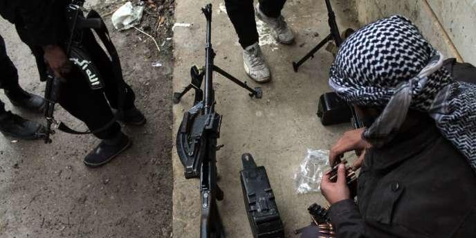 Les combats entre rebelles syriens et combattants de l'EIIL ont fait des centaines de morts depuis le début de l'année.