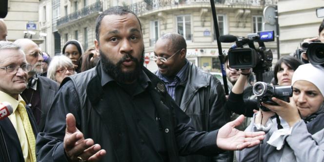 Dieudonné le 13 mai 2009 à Paris.