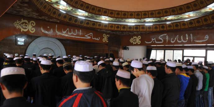 A l'université islamique de Yinchuan, dans le Ningxia, dans le nord-ouest de la Chine, en 2011.