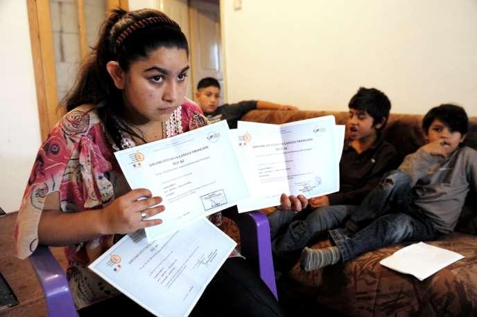 La famille de Leonarda Dibrani demande l'annulation du refus de titre de séjour prononcé à leur encontre par le préfet du Doubs le 19 juin dernier.