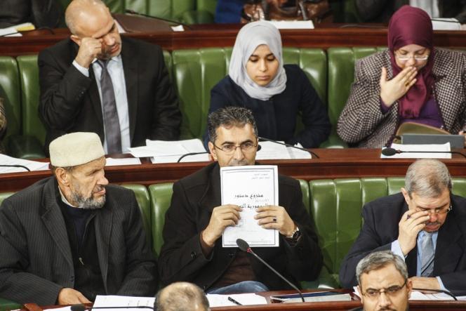 L'Assemblée nationale constituante tunisienne, le 3 janvier.