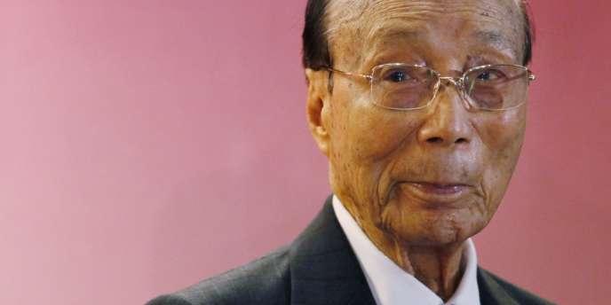 Le producteur hongkongais Run Run Shaw en 2010.