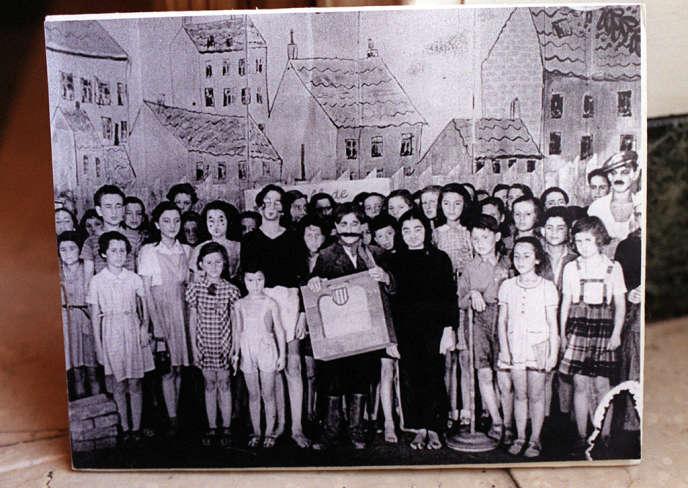 En 1943, des enfants du
