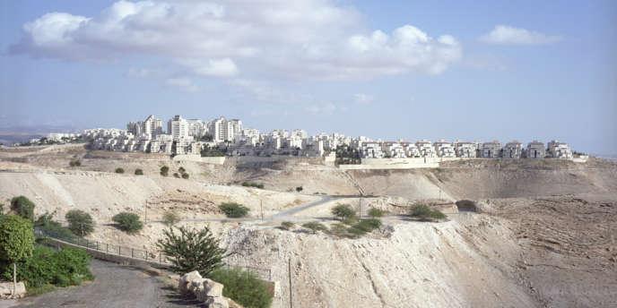 Ma'aleh Adumim, à l'est de Jérusalem, est la troisième plus grande colonie israélienne en Cisjordanie.