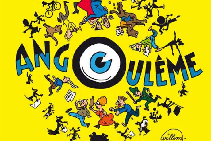 L'affiche du Festival international de la bande dessinée d'Angoulême 2014.