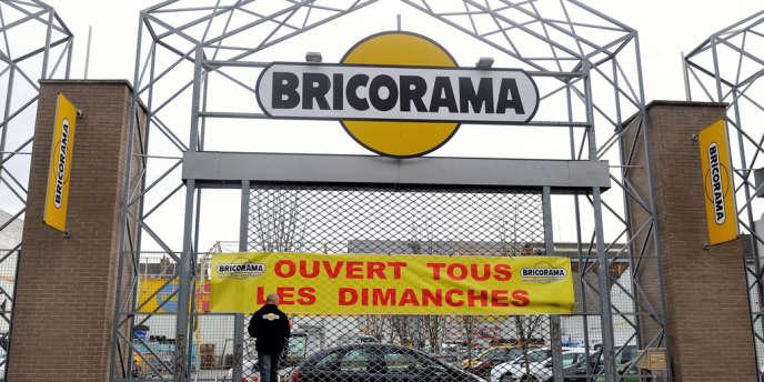 Une enseigne Bricorama de Lille, en 2014.