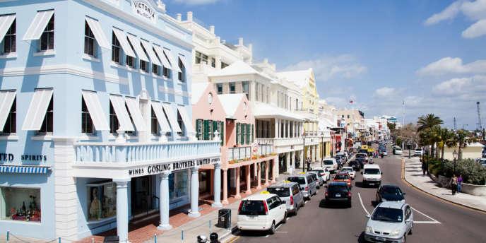 L'archipel des Bermudes est l'un des principaux acteurs mondiaux du marché de la réassurance. Ici, Hamilton, la capitale.