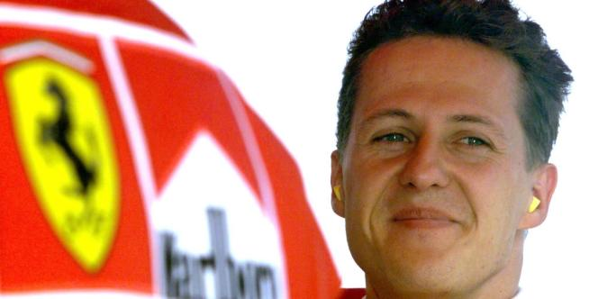 Michael Schumacher, le 15 avril 1998.