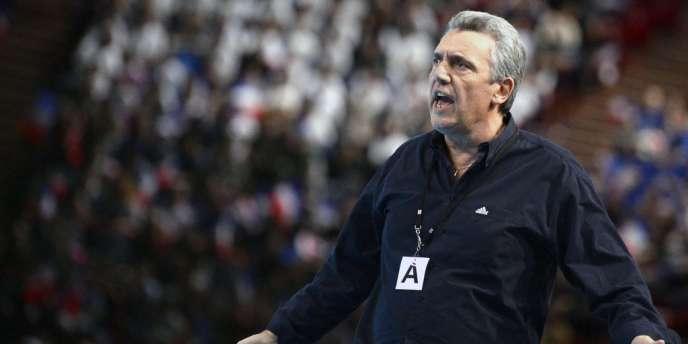 Le sélectionneur de l'équipe de France, Claude Onesta ne vise pas forcément une victoire à l'Euro 2014, mais songe déjà à reconquérir le titre olympique à Rio en 2016.
