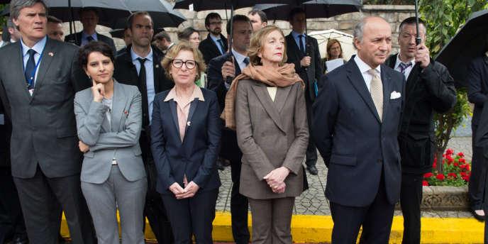 Le 3 avril 2013, à Casablanca, lors de la visite de François Hollande au Maroc.
