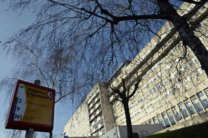 L'hôpital de Chambéry, le 8janvier.