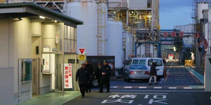 Une explosion s'est produite à l'usine Mitsubishi Materials à Yokkaichi, au Japon.