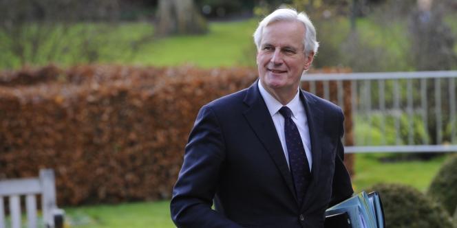 Michel Barnier à Bruxelles, le 19 décembre 2013.