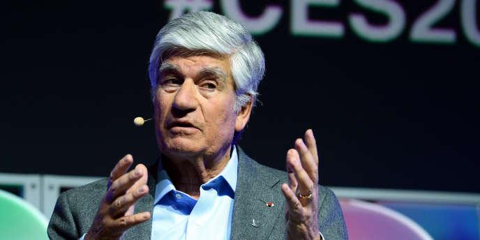 M. Lévy, ici le 8 janvier 2014.