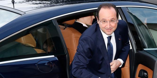François Hollande à Toulouse, le 9 janvier.