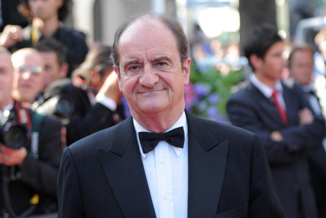 Pierre Lescure lors de la cérémonie de clôture du 63e Festival de Cannes, le 23 mai 2010.
