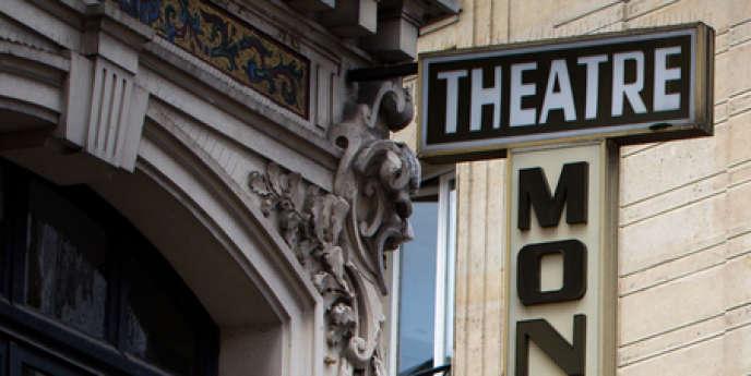 Le Théâtre Montparnasse à Paris.