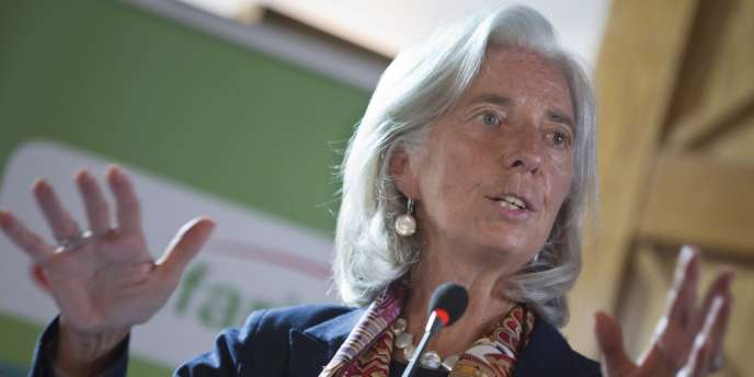 Christine Lagarde, la directrice générale du FMI, le 6 janvier.