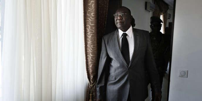 L'ancien président de transition centrafricain Michel Djotodia à Bangui.