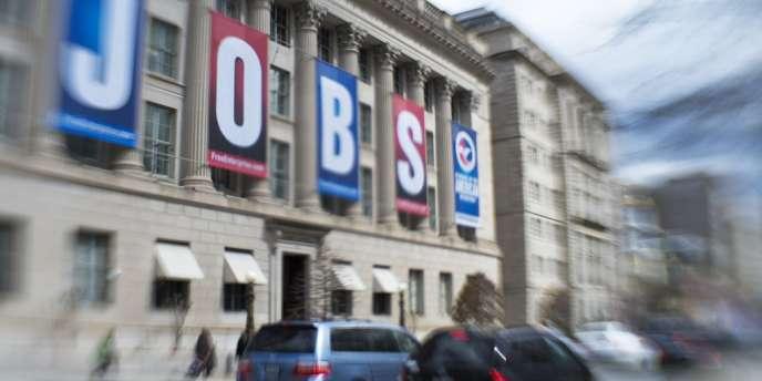 L'emploi américain retrouve son niveau d'avant la crise. A Washington, en mars 2013.