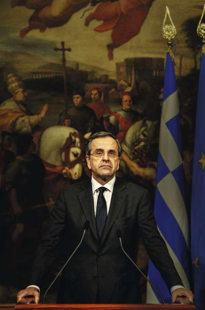 Le premier ministre grec, Antonis Samaras.