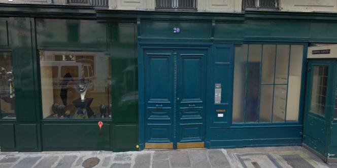 L'appartement du 20, rue du Cirque, dans le 8e arrondissement de Paris.