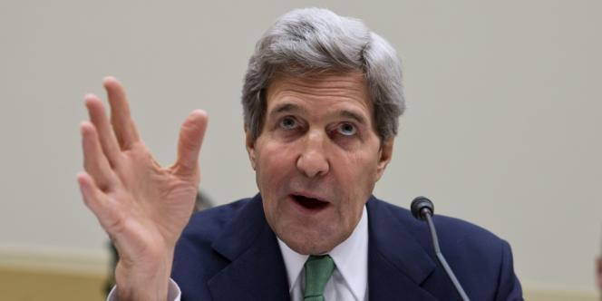 John Kerry, secrétaire d'Etat américain, en décembre à Washington.
