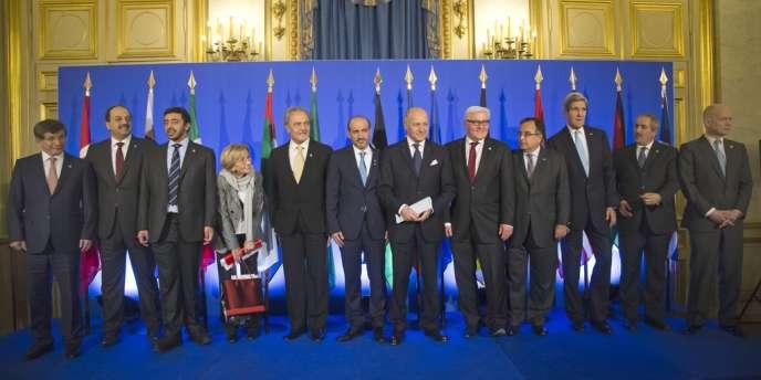 La réunion des Amis de la Syrie, le 12 janvier à Paris.