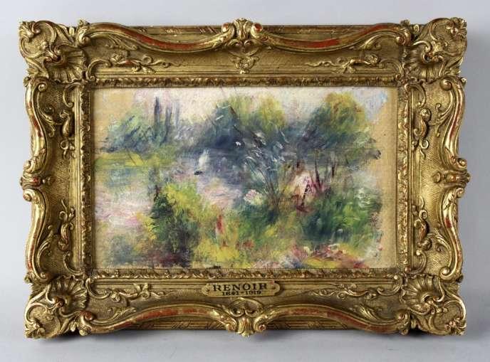 «Bords de Seine», de Renoir.
