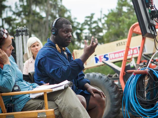 Le réalisateur Steve McQueen sur le tournage du film anglo-américain