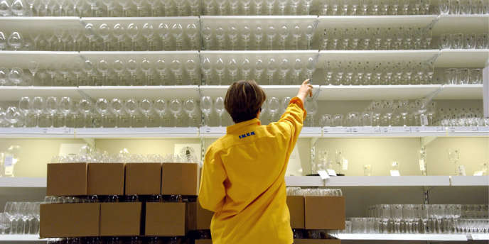 Le magasin Ikea de Franconville (Val-d'Oise), en février 2007.