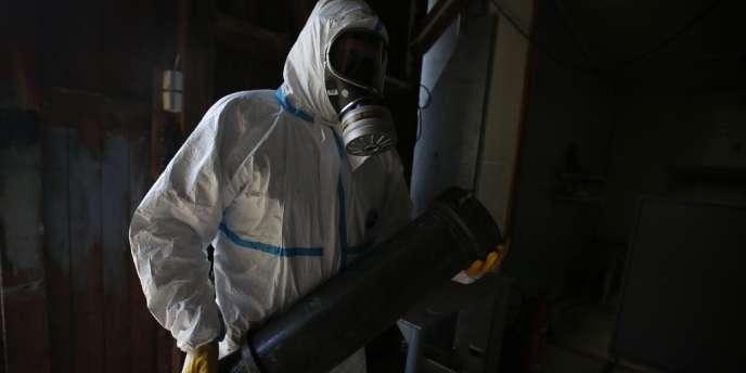 Le 9 janvier, l'Allemagne a proposé de détruire sur son territoire une partie des armes chimiques collectées en Syrie. Cette opération sera effectuée par la Société fédérale pour le traitement des armes et résidus d'armement chimiques (Geka) située à Munster, en Basse-Saxe (notre photo).
